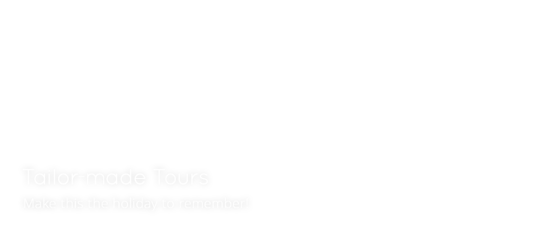 Tailor-made tours overlay